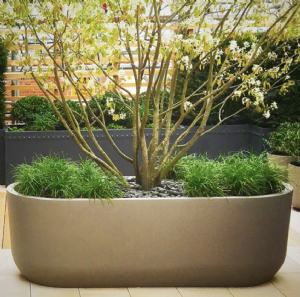 GRP Tapered Trough Planters from potstore.co.uk